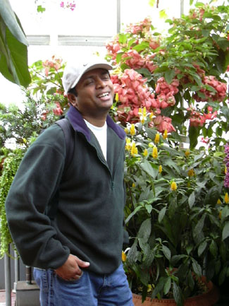 Ah ha! He can really laugh for photos! Must trick him into smiling more!!